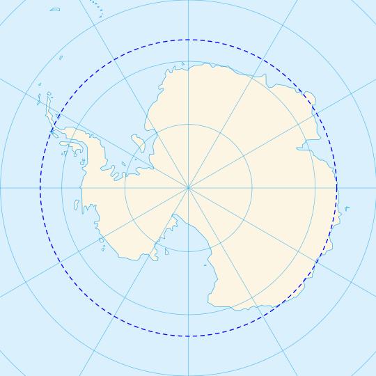 Círculo Polar Antártico - Partes del Globo Terráqueo