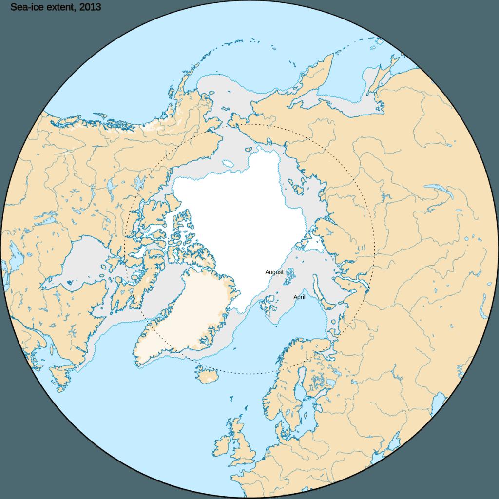 Círculo Polar Ártico - Partes del Globo Terráqueo