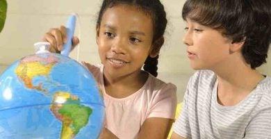 Globo Terraqueo Interactivo para niños