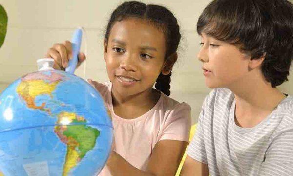 Globo Terraqueo Interactivo para niños - Bola mundo interactiva