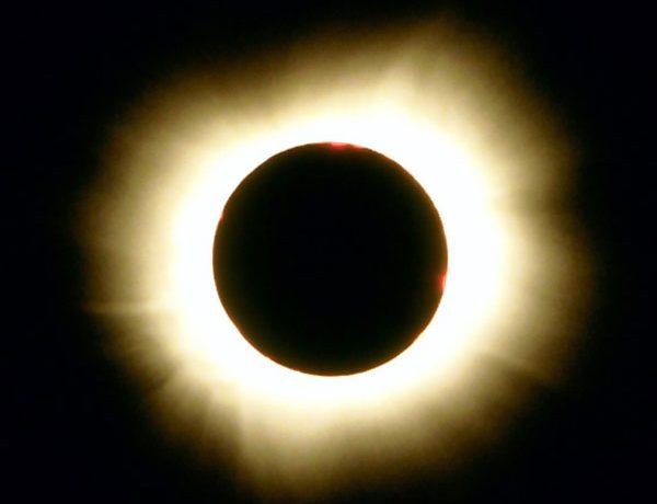 Atmosfera del sol: fotosfera, cromosfera y corona solar